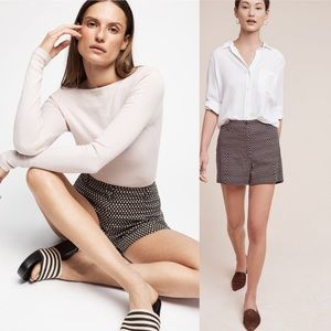 Anthropologie Buttoned High-Rise Shorts